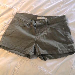 else Army Green Shorts